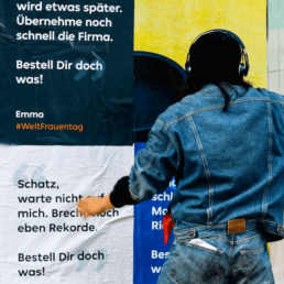 Plakatwerbung in Berlin
